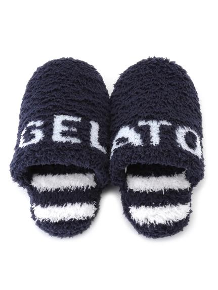 """【GELATOPIQUEHOMME】""""gelato""""條紋室內拖鞋"""