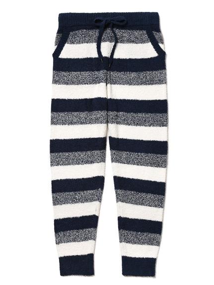 【GELATO PIQUE HOMME】'bamboo'條紋長褲