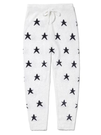 【GELATO PIQUE HOMME】'smoothie'紐約提花星星長褲