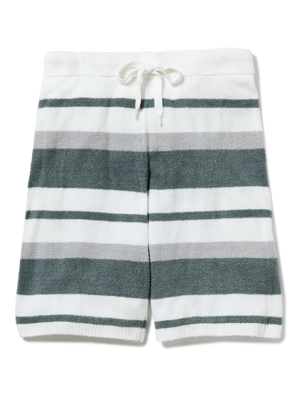 【GELATO PIQUE HOMME】' milk smoothie '條紋短褲