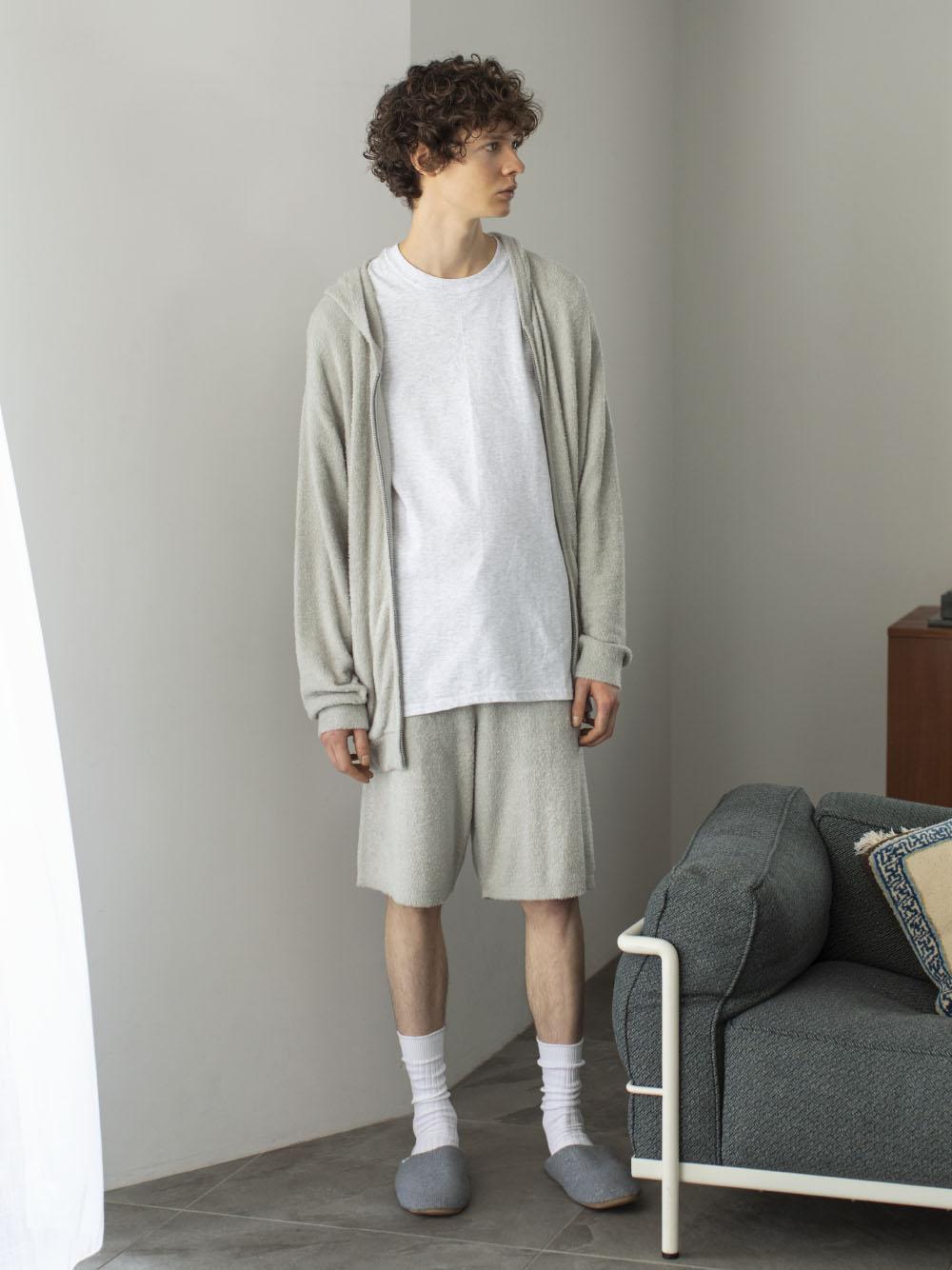 【ONLINE限定】HOMME 可水洗smoothie短褲