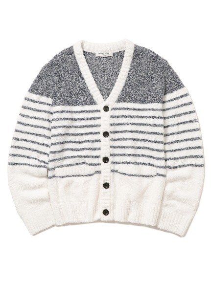 【GELATO PIQUE HOMME】 ' bamboo ' 條紋開襟外套