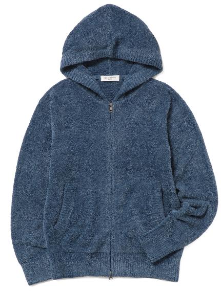 【GELATO PIQUE HOMME】 ' smoothie x aqua dry ' LOGO刺繡連帽外套