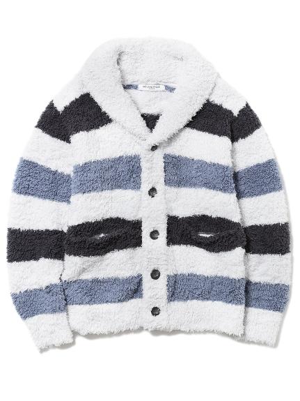 【GELATO PIQUE HOMME】 ' gelato ' 色塊條紋開襟外套