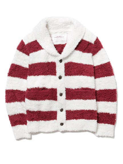 【X'mas】【GELATO PIQUE HOMME】 ' gelato ' 2條紋開襟外套