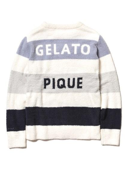 【GELATO PIQUE HOMME】 ' smoothie ' 4色條紋上衣
