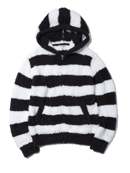 【GELATO PIQUE HOMME】寬條紋連帽外套