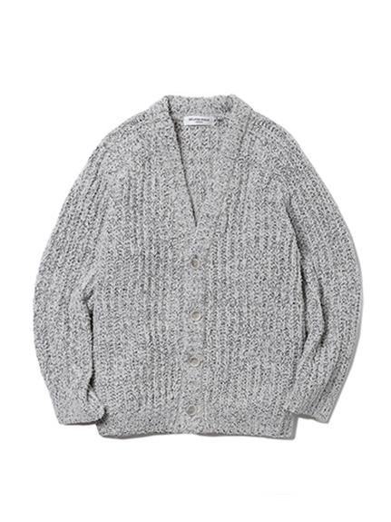 【GELATO PIQUE HOMME】休閒粗編織開襟衫