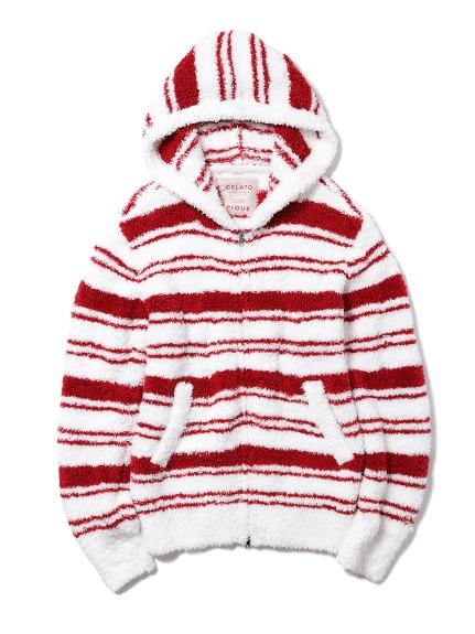 【X'mas限定】HOMME ' gelato ' 條紋連帽外套