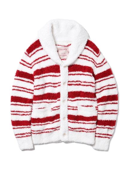 【X'mas限定】HOMME ' gelato ' 條紋開襟外套