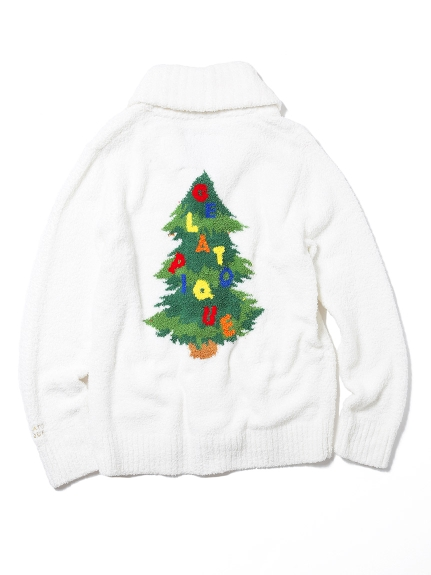 【X'mas限定】HOMME聖誕樹主題開襟外套