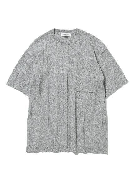 【HOMME】羅紋編織上衣