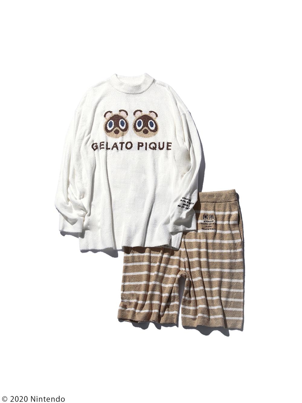 【預購】【NEW】薄款smoothie豆狸&粒狸 緹花上衣&短褲 for MEN