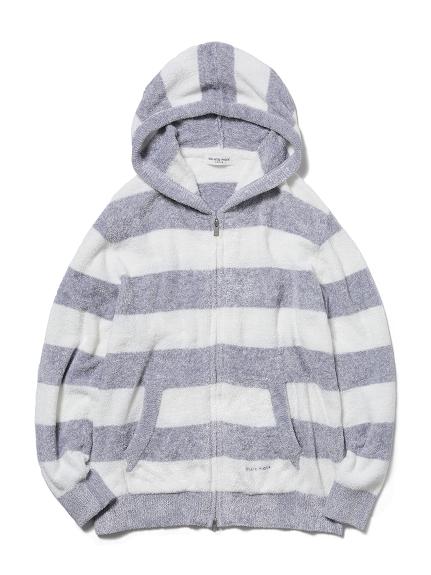 【HOMME】smoothie 編織雙色條紋外套