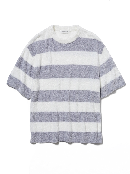 【HOMME】smoothie 編織雙色條紋上衣