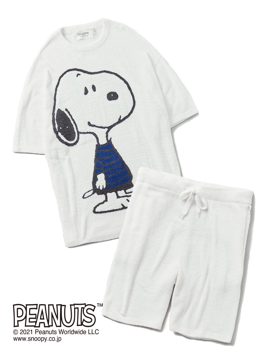 【PEANUTS】大圖案角色上衣&短褲SET(男裝)