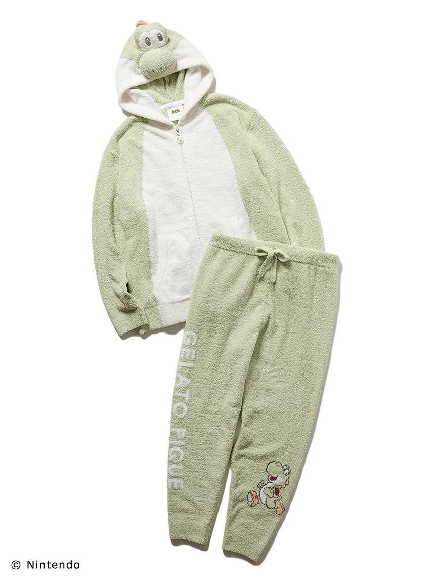 【超級瑪利歐】MEN-耀西外套&長褲套裝
