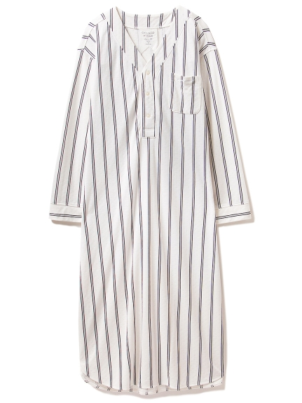 雙紗棉居家連身裙