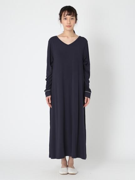 莫代爾V領洋裝