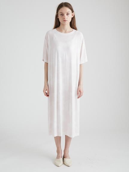 紮染嫘縈長洋裝