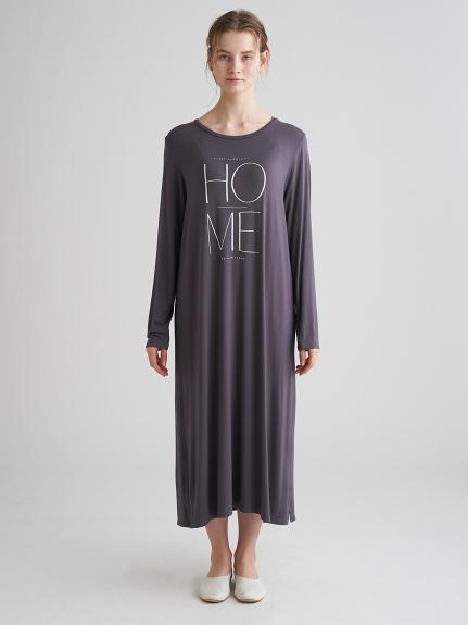 文字嫘縈長洋裝