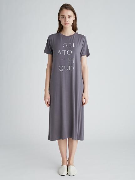 抗菌防臭嫘縈LOGO 洋裝