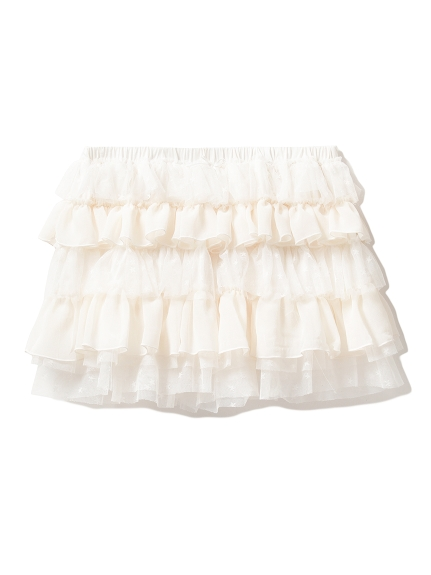 層次蕾絲居家短褲