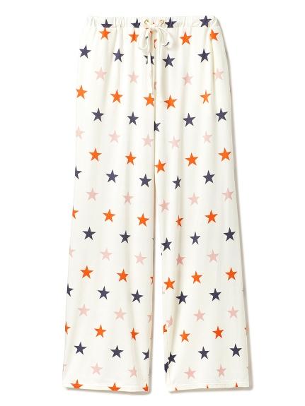 星星印花長褲