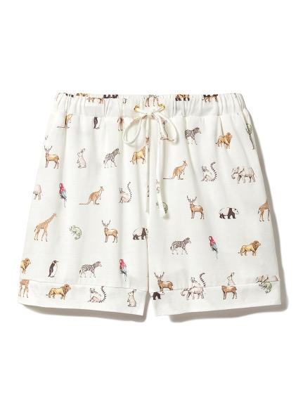 動物印花居家短褲