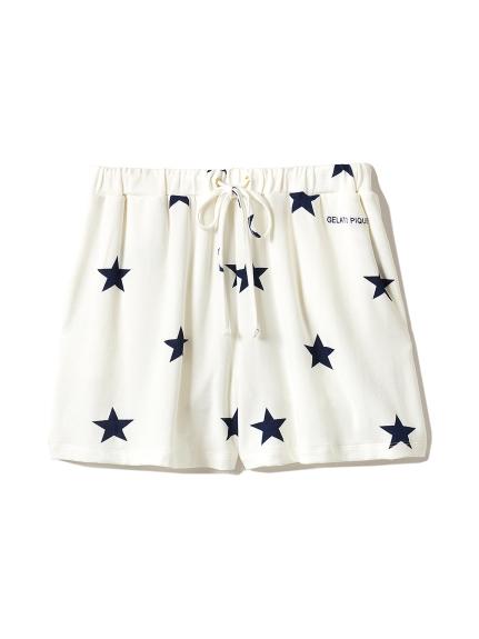星星印花短褲