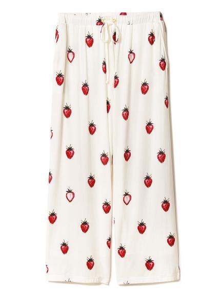 草莓主題長褲