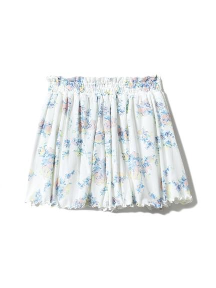 粉彩印花短褲