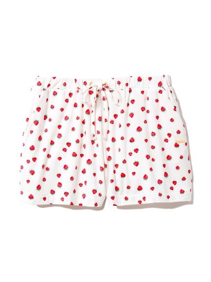 縲縈印花短褲