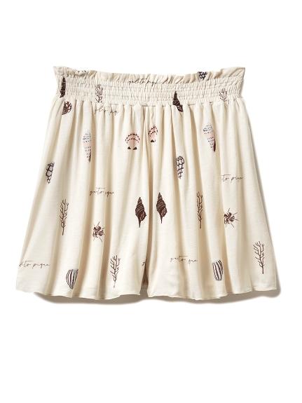 貝殼彩繪短褲