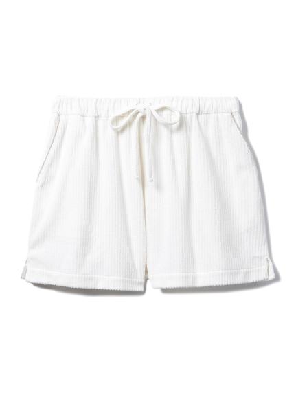 絨毛羅紋短褲