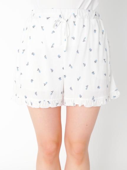 小玫瑰花短褲