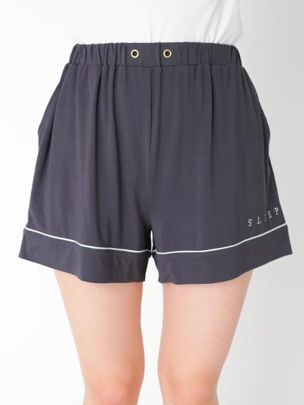 LOGO嫘縈短褲