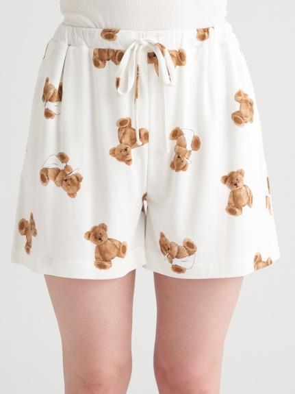 小熊圖案抗菌防臭短褲