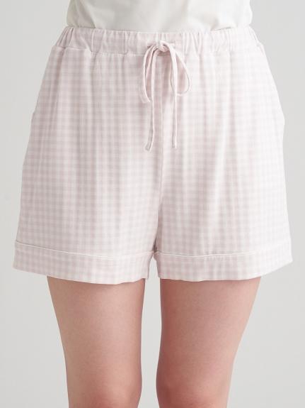 小方格紋莫代爾短褲