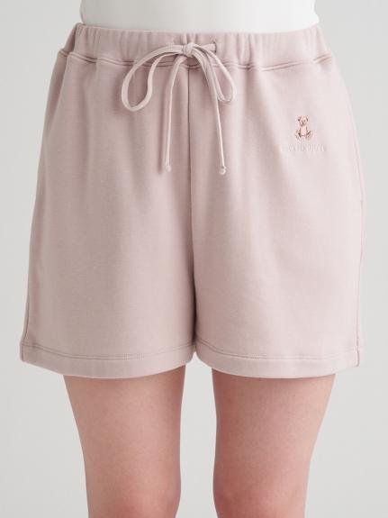 小熊刺繡短褲