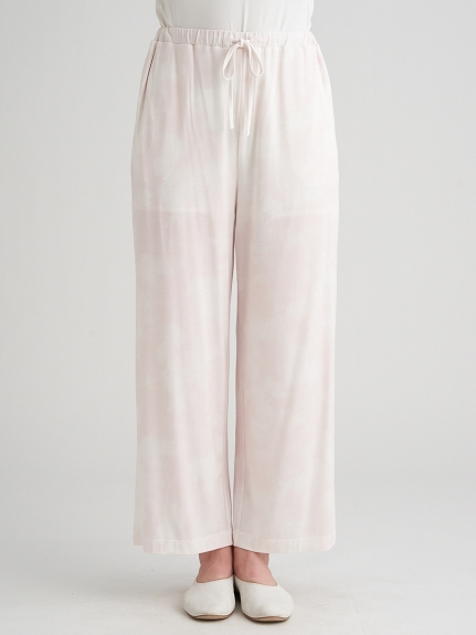 紮染嫘縈長褲
