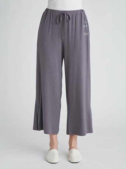 抗菌防臭嫘縈LOGO 長褲