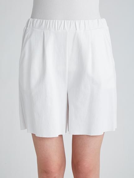 運動風羅馬布LOGO 短褲