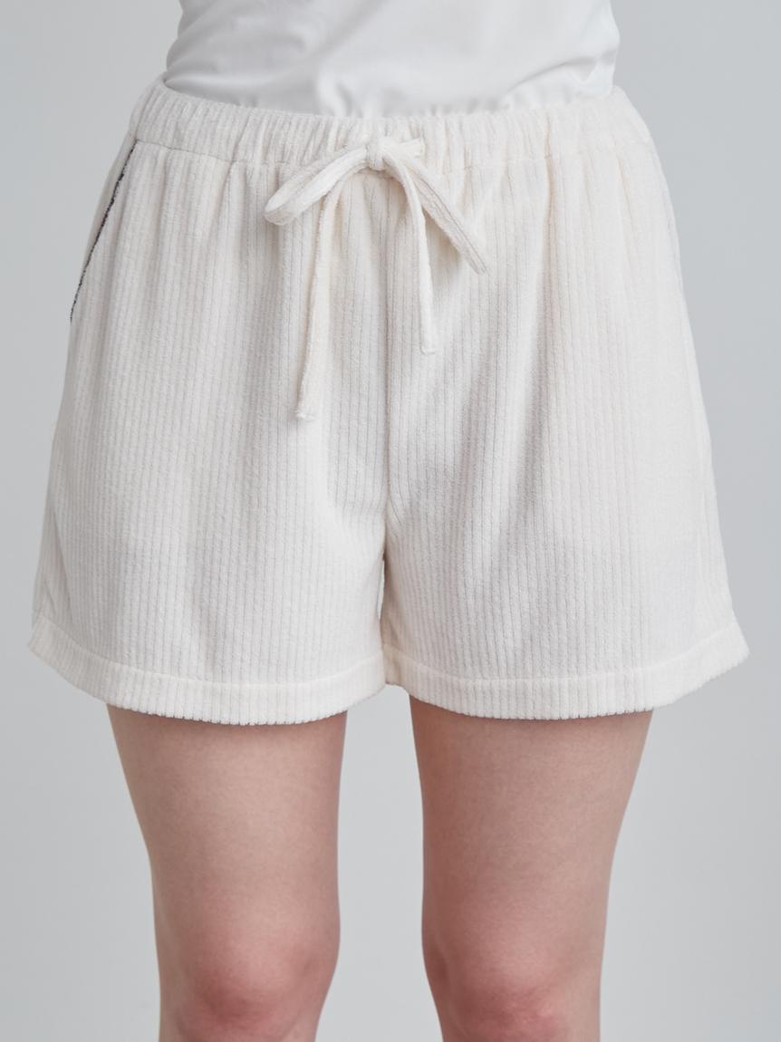 短絨羅紋短褲