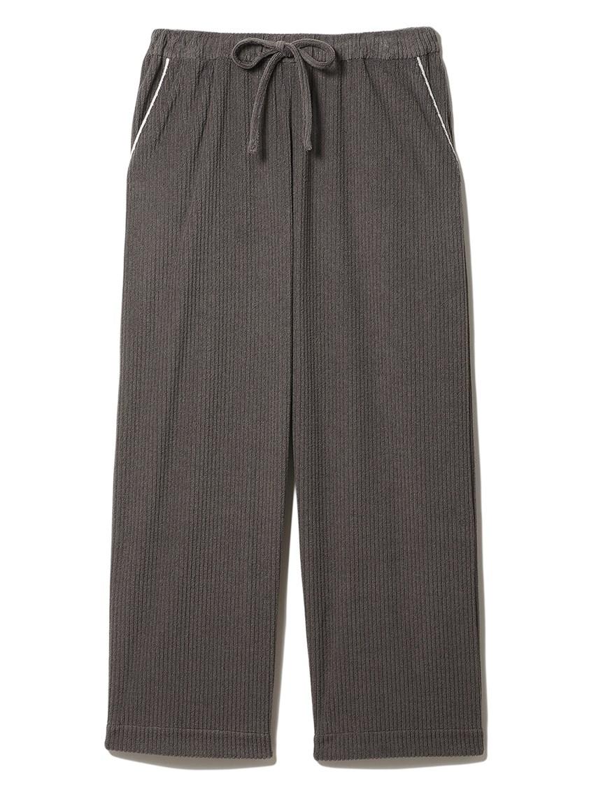 短絨羅紋長褲