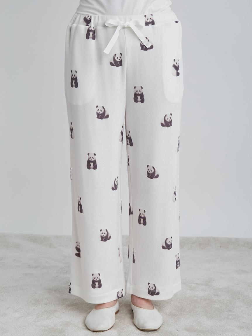 熊貓圖案長褲