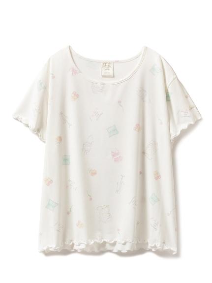 甜美印花T-shirt