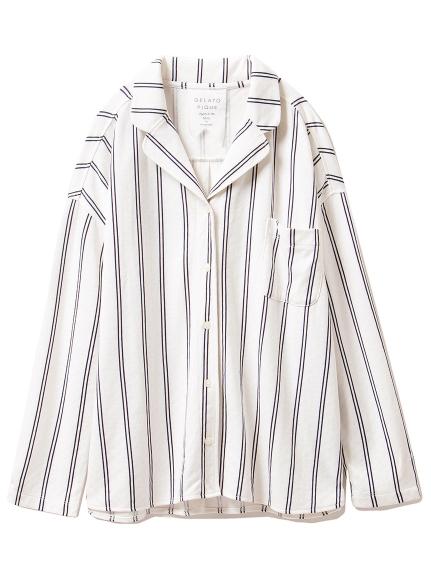 雙紗棉居家襯衫