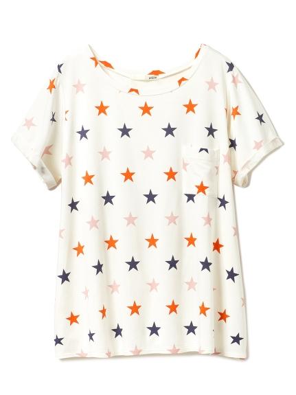 星星印花T-shirt