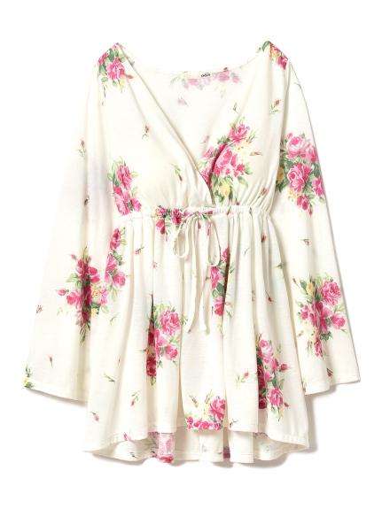 春季花卉居家上衣